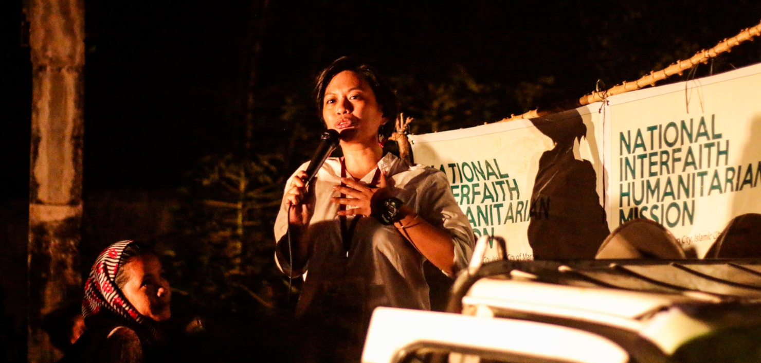 Mensenrechtenadvocaat Czarina Musni neemt adempauze in Shelter City Rotterdam