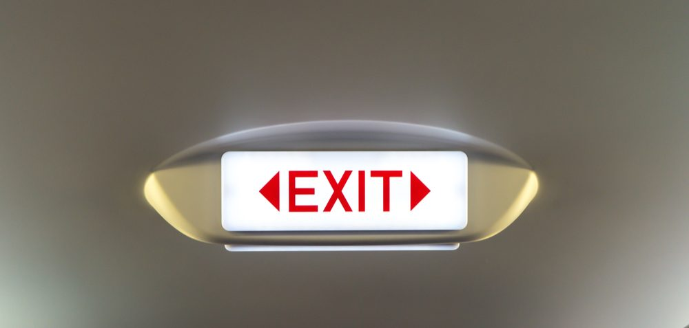Exit - schrapping
