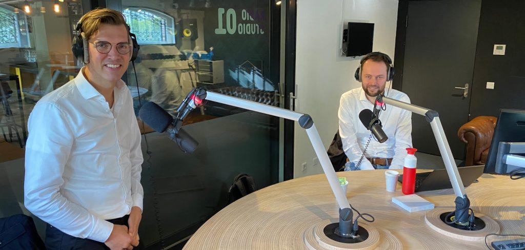 Frank van der Linden en Jeroen van der Beek