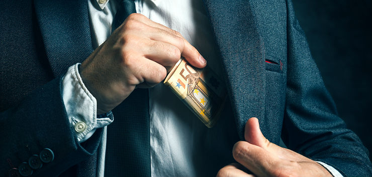 Geld stelen