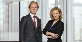 Marien Glerum en Wendela Raas