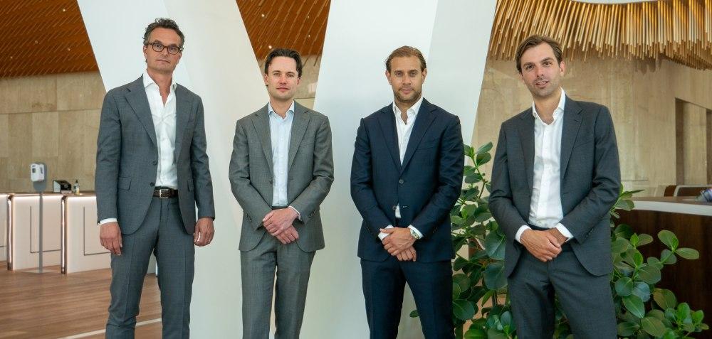 Hendrik Jan Schimmel en team- Taylor Wessing