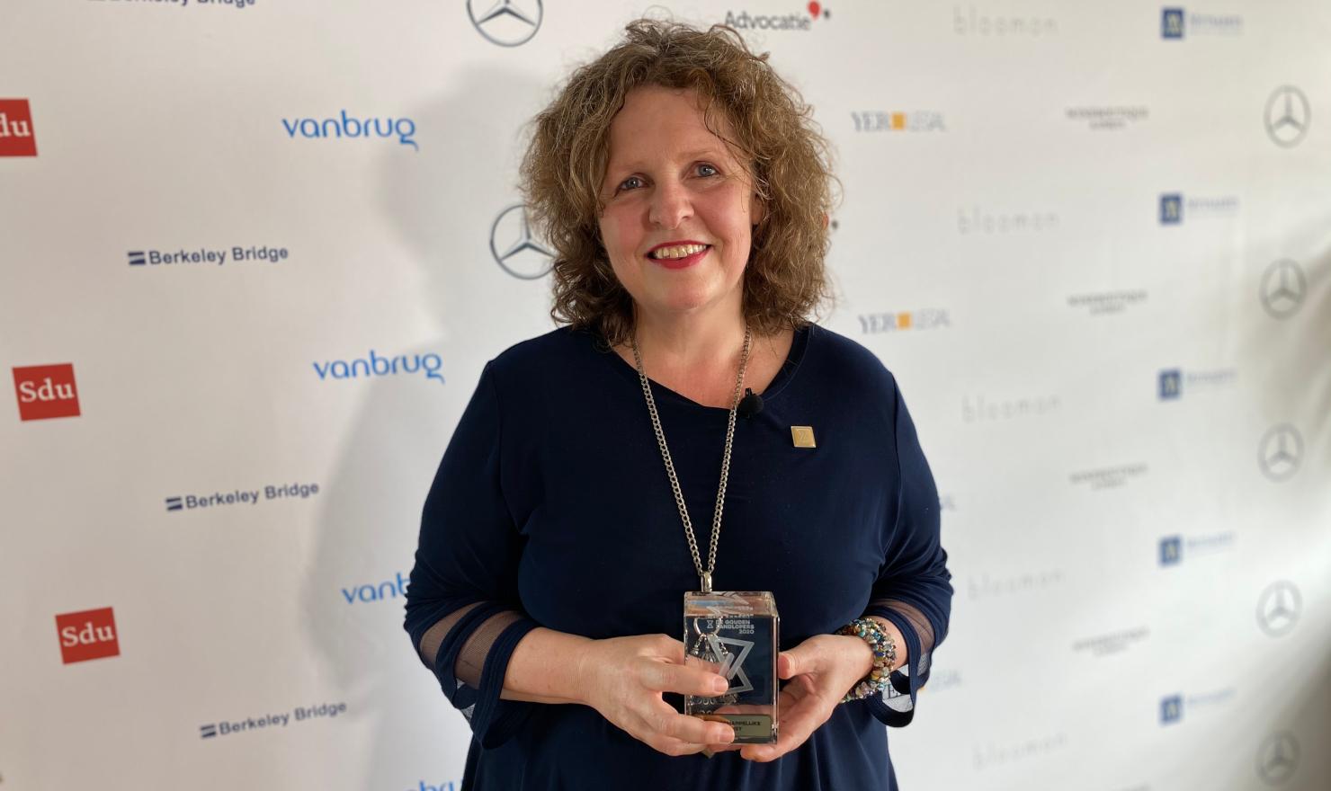 Irma van den Berg is de Meest Maatschappelijk Betrokken Jurist
