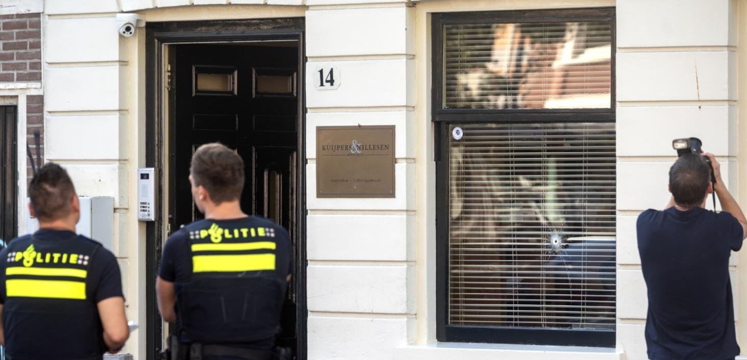 Advocatenkantoor van Jan-Hein Kuijpers beschoten