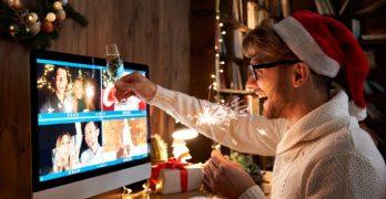 Kerstborrel via Zoom