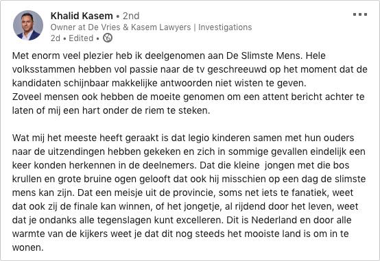 Khalid Kasem LinkedIn