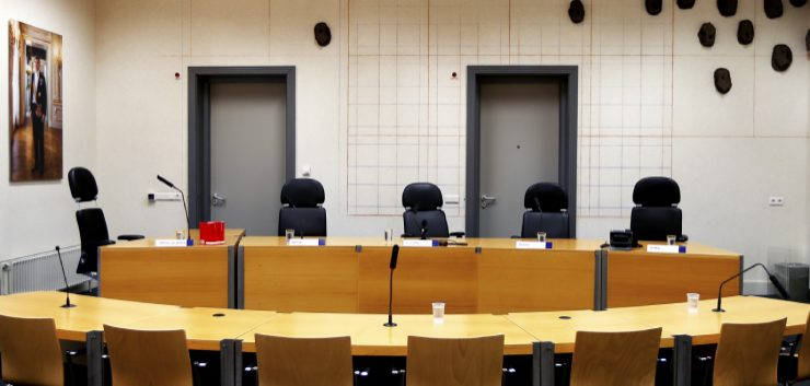 Lege rechtszaal