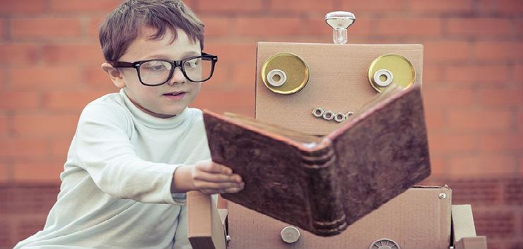 Lezende robot