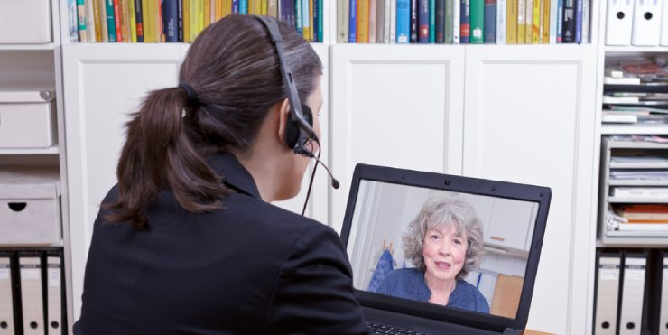 Notaris op Skype