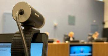 Videobellen in de rechtbank