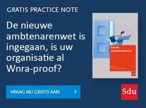 Practice Note Wnra, transitie overheidswerknemers