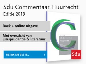 Sdu Commentaar Huurrecht 2019
