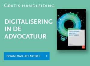 Digitalisering in de advocatuur