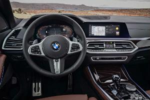 BMW 850 interior