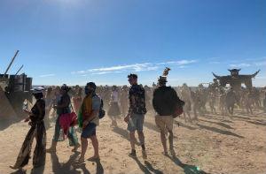 Wandelen op Africa Burn
